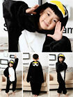 Kids Unisex Pajamas Xmas Kigurumi bodysuit Cosplay Animal Costume Sleepwear