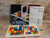 Rubiks Race Vintage 1980s  Puzzle Game By Ideal Toys, Complete in Original Box