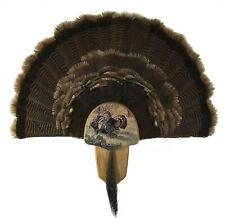 Walnut Hollow Country Turkey Fan Mount And Display Kit Oak With Rio Grande Image
