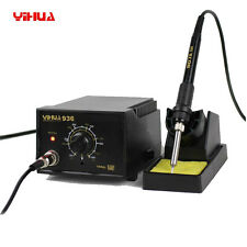 YiHUA 936 2in1 110V ESD Adjustable Temperature Soldering Iron Station Kit Stand