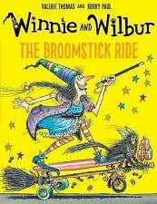 Winnie the Witch Story Book - WINNIE & WILBUR:  THE BROOMSTICK RIDE -  NEW