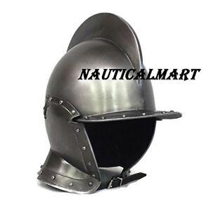 Medieval LARP Burgonet helmet BY VIMHARI