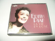 Edith Piaf La Vie En Rose 3 cd set 63 tracks 2010 Readers Digest New