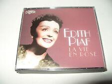 Edith Piaf La Vie En Rose 3 cd set 63 tracks 2010 Readers Digest New