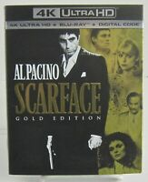 Scarface Gold Edition 4k Ultra HD_Blu-ray+Digital Universal  Oct 2019