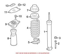 For BMW Genuine Coil Spring Rear 33536851931