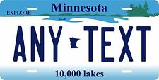 Minnesota 1995 License Plate Tag Personalized Auto Car Custom VEHICLE OR MOPED