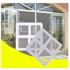 3Pcs  Mesh Screen Curtain Patch Broken Holes Sticker Wires Patch Door Window Net