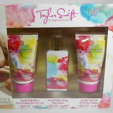 Taylor Swift Incredible Things Fragrance 3 PC Set Spray Lotion Bath Gel