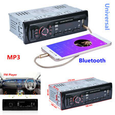 Bluetooth Car Auto Stereo Audio MP3 In-Dash Aux Receiver +SD USB FM Radio Player