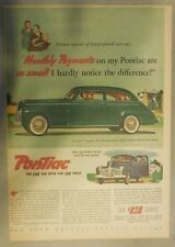 Pontiac Car Ad: Pontiac Low Monthly Payments from 1941 ! Size: 11 x 15 inches