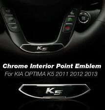FOR KIA 2011 - 2015 OPTIMA / K5 Interior Exterior CHROME Logo Point Emblem1P