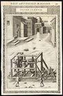 Antique Print-HAULING DEVICE-COLUMN-CLXXVIII-Ramelli-Bachot-1588