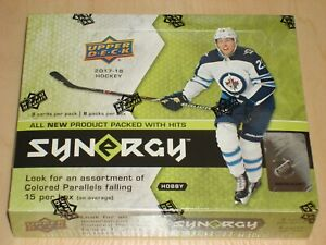 2017-18 Upper Deck SYNERGY HOCKEY Box, New, Factory Sealed