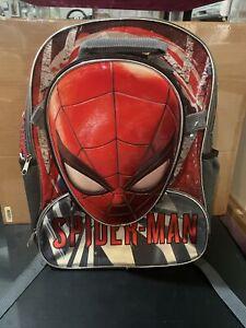 Kids Spider-Man Large Backpack + Lunchbox Marvel GamerVerse Fast Forward EUC