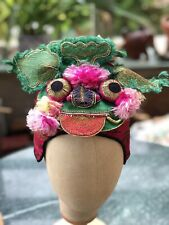 More details for antique chinese dragon hat childs wind hat ref:2