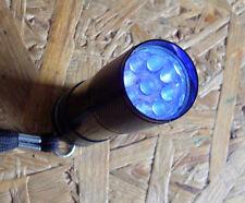 Geocaching Geocache UV-Lampe Tool NEU, 9LED, Schwarzlicht