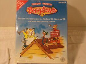Richard Scarry's Busytown CD-ROM PC/MAC, 1999, Parent's Choice winner NIB Sealed