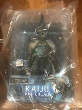 "Kaiju KNIFEHEAD 10"" Deluxe battle damage action figure 2014 NECA Pacific Rim"