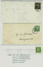 G160 Sweden special military stationery ps stamp cut out scarce!