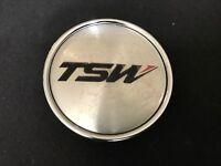 """TSW Custom Wheel Center Cap Machined Finish C190 Diameter 2"""""""