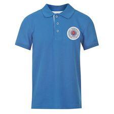 Glasgow Rangers Junior Core Football Polo Shirt - Official (Age 13 XLB) L/E