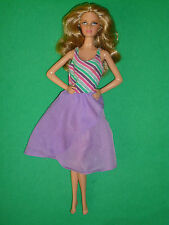 Barbie Fashion ~ Vintage 80's Dress~ Black & White Label~Doll Not Included