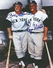 Roger Maris & Mickey Mantle Signed 8 x 10 Photo Reprint
