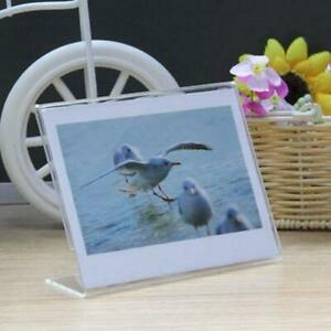 2pcs Clear Frame For FujiFilm Instax  Polaroid W210 WIDE 300 Camera Photo Film