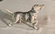 Vintage Cast Iron Dog w/ Bobbing Head