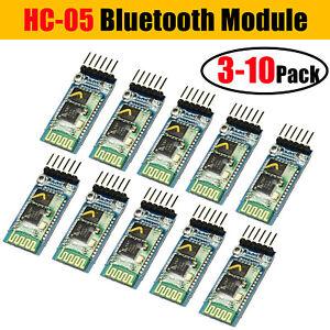 3/5 Wireless RF Transceiver Serial RS232 TTL 5V HC-05 6Pin Bluetooth For Arduino