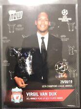 Topps now Award UEFA Champions League 2019 Virgil van Dijk (Liverpool) /007