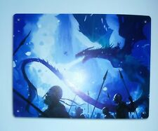 plaque métallique inspirée game of throne 15x20 cm