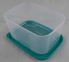 Tupperware Kühlschrank System Frische System Dose 700 ml hoch Klar Grün Neu