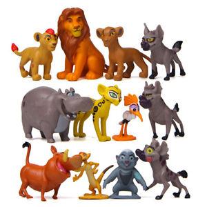 12cps The Lion King Lion Guard Action of Figure Playset Simba Kion Timon Pumbaa