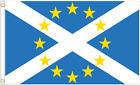 Scotland & European Union EU Friendship Polyester Flag