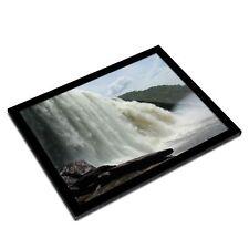 A3 Glass Frame - Waterfall Venezuela Travel Art Gift #3166