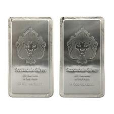 2 x 10 oz Scottsdale STACKER® Silver Bars - 20 Troy oz .999 Silver Bullion #A248