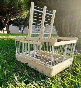 Trampa de pájaros // Jaula caza para pájaros // Sistema de desarmado experto