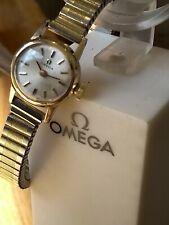 9ct Gold Vintage Omega Ladies Watch 55th Celebration Good Working Order