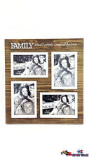 FAMILY Picture Frames Photo Frames Wooden Look Home Decor Gift GKIFAM30