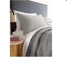 Threshold Chambray Linen Blend Pillow Sham, Standard Gray Nwot