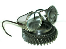 Antique American Optical Mesh Goggles safety Glasses Vtg Old Retro AO Steampunk