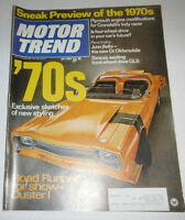 Motor Trend Magazine Plymouth Engine Modifications July 1969 080914R