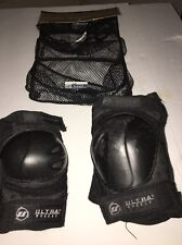 Ultra Wheels Roller Blade Protective Gear Set Of Knee & Elbow Pads Adult Small