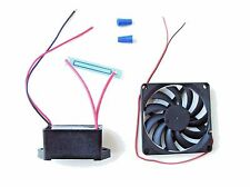 12 Volt DC - 500 mg/hr Moisture Proof Ozone Generator Kit with a 12v Fan
