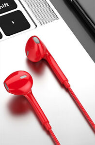 Super Bass Music Earphone 3.5mm Stereo Earbuds for Gaming Headphone With Mic