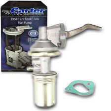 Carter Fuel Pump for 1968-1972 Ford F-100 6.4L 5.9L V8 - Mechanical Gas ja
