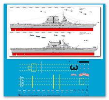 Peddinghaus 1/700 ep 3283 USS Träger Saratoga CV 3