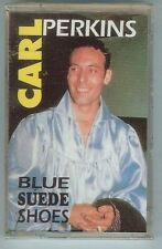 CARL PERKINS - BLUE SUEDE SHOES - CASSETTE - NEW